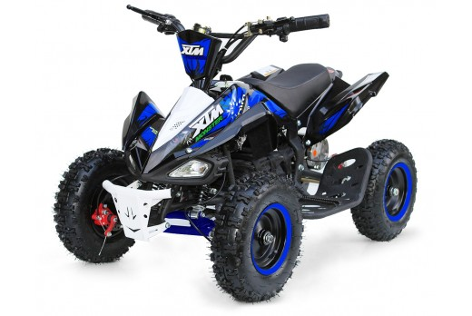 XTM MONSTER 36v 800w QUAD BIKE BLACK BLUE