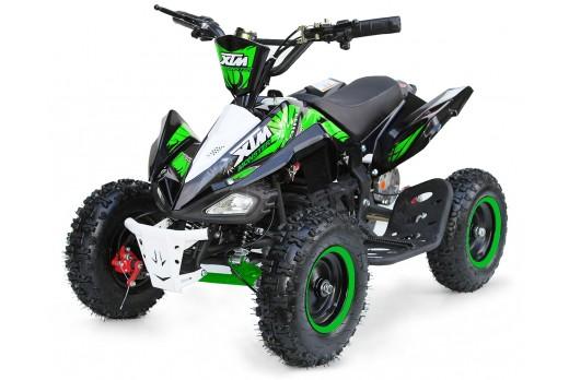 XTM MONSTER 36v 800w QUAD BIKE BLACK GREEN