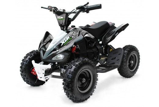 XTM MONSTER 36v 800w QUAD BIKE BLACK SILVER