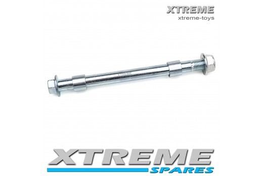 MINI DIRT BIKE 170MM FRONT AXLE SPINDLE WITH SPACERS / XTM Pro-Rider