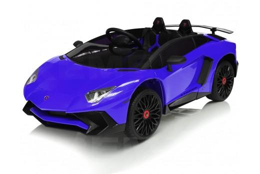 Xtreme 12v Official Licensed Lamborghini Aventador SV Ride on Car Blue