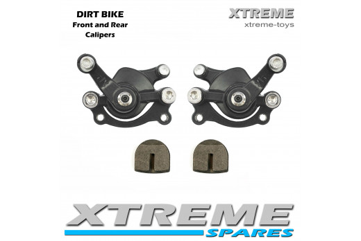 MINI MOTO DIRT BIKE FRONT AND REAR BRAKE CALIPER 50cc