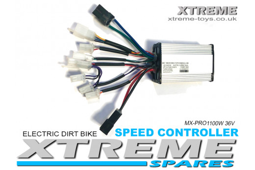 XTREME ELECTRIC XTM MX-PRO 36V 1100W LITHIUM REPLACEMENT SPEED CONTROLLER