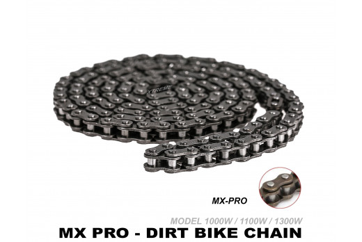 XTREME ELECTRIC XTM MX-PRO 48V REPLACEMENT CHAIN 219H-116 LINKS