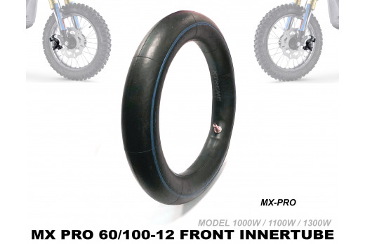 XTREME ELECTRIC XTM MX-PRO 36V REPLACEMENT FRONT INNER TUBE 60/100-12