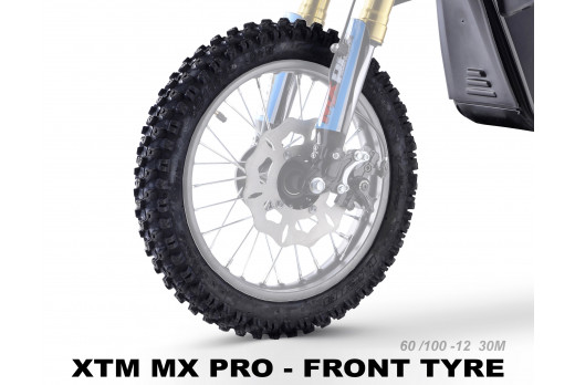 XTREME ELECTRIC XTM MX-PRO 36V REPLACEMENT FRONT TYRE 60/100-12 30M