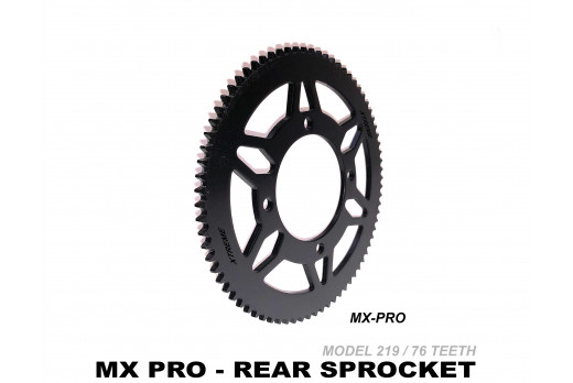 XTREME ELECTRIC XTM MX-PRO 36V REPLACEMENT REAR SPROCKET