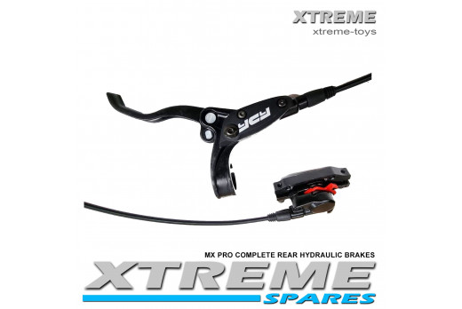 XTREME ELECTRIC XTM MX-PRO 48V REPLACEMENT COMPLETE REAR HYDRAULIC BRAKES