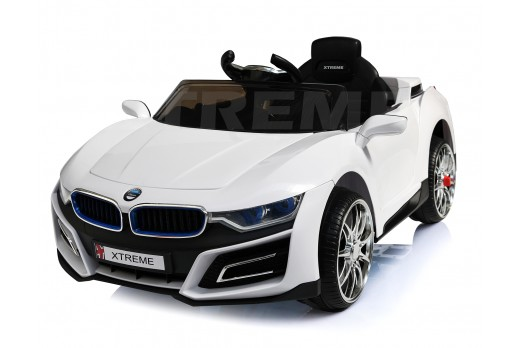 Xtreme 12v BMW i8 Style Ride on Car in White