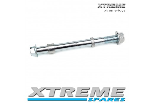 MINI DIRT BIKE 155MM REAR AXLE SPINDLE WITH SPACERS / XTM Pro-Rider