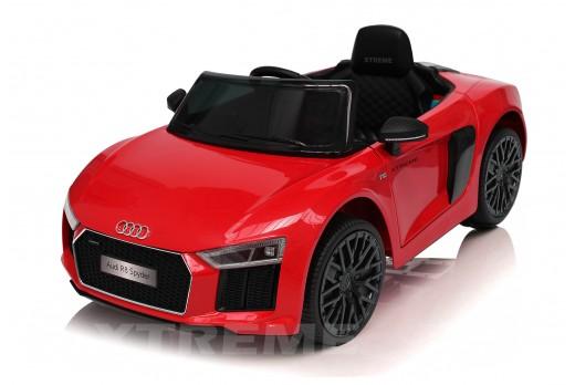 Xtreme 12v Official Licensed Audi R8 Spyder Ride on Car Red Single Headrest