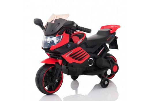 6V Xtreme Electric Motorbike Ride on Car in Red
