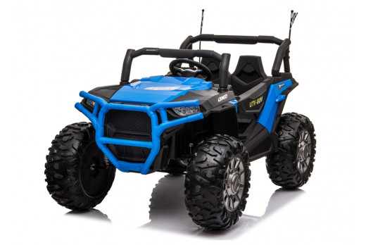 Xtreme BIG 24v Ride on Buggy Off Road UTV Jeep Blue
