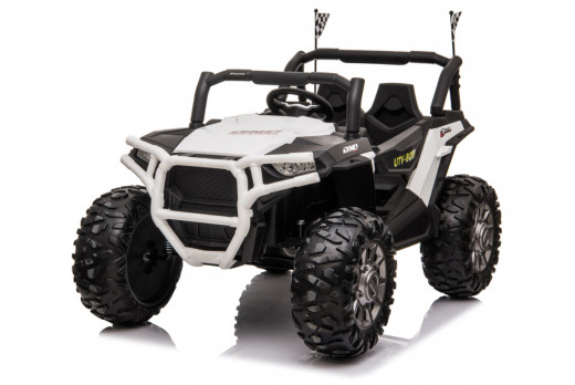 Xtreme BIG 24v Ride on Buggy Off Road UTV Jeep White