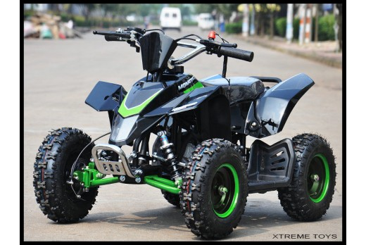 MINI XTM MONSTER QUAD BIKE FULL MAIN BODY PLASTICS IN BLACK