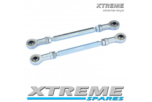XTM RACING QUAD HIGH QUALITY 2 X STEERING TRACK ROD ENDS 245MM