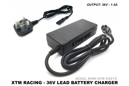 XTM RACING 1000W BATTERY CHARGER ELECTRIC 36v MIDI QUAD