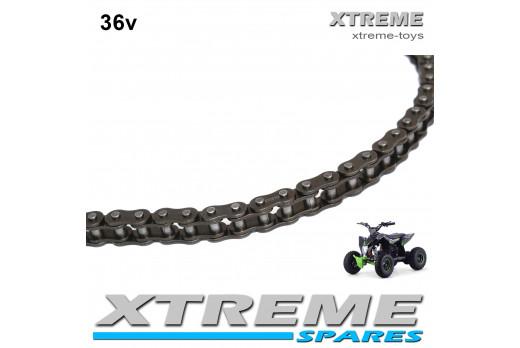 XTM RACING 36V 1000W QUAD NEW CHAIN 96 LINK 25H
