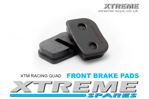 COMPLETE FRONT BRAKE PADS XTM RACING QUAD/ PRO-RIDER BIKE