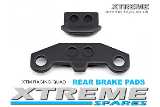 XTM RACING QUAD COMPLETE REAR BRAKE PADS
