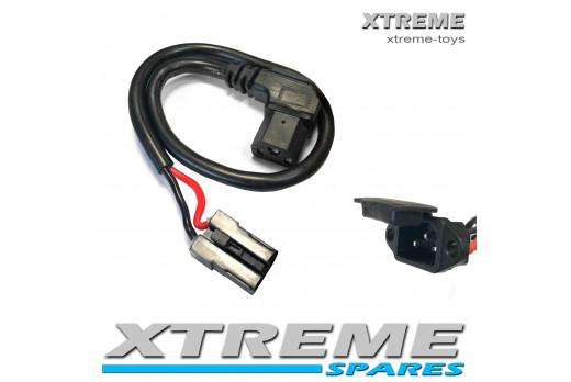 XTM RACING QUAD REPLACEMENT BATTERY LEAD AND CONNECTION SOCKET