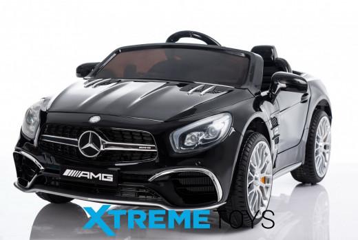 Xtreme 12v Licensed Mercedes-Benz SL65 AMG Coupe Ride on Car in Black