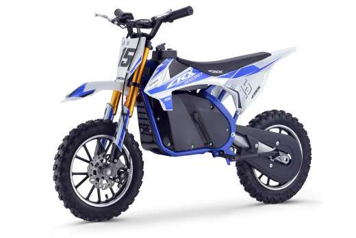 XTM CRX 36V 500W ELECTRIC DIRT BIKE BLUE