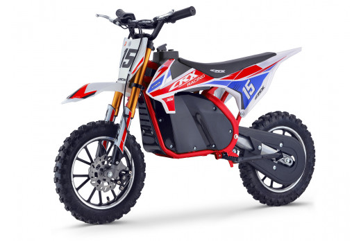 XTM CRX 36V 500W ELECTRIC DIRT BIKE RED BLUE