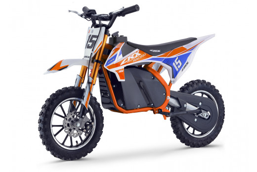 XTM CRX 36V 500W ELECTRIC DIRT BIKE ORANGE BLUE