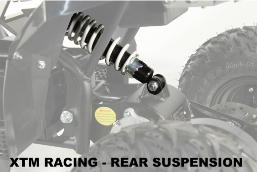 XTM RACING QUAD COMPLETE REAR SUSPENSION