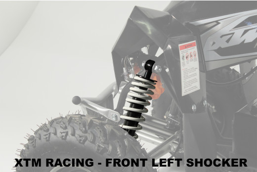 XTM RACING QUAD COMPLETE NEAR SIDE FRONT LEFT SHOCKER