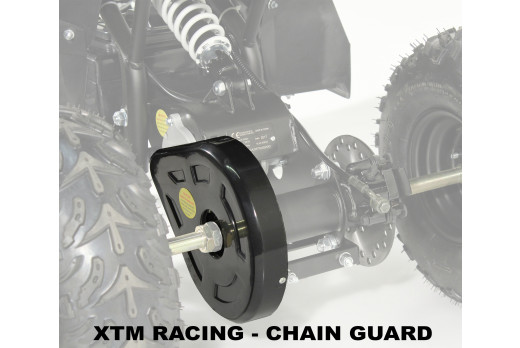 XTM RACING QUAD COMPLETE CHAIN GUARD