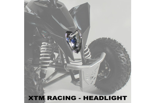 XTM RACING QUAD COMPLETE HEADLIGHT SET