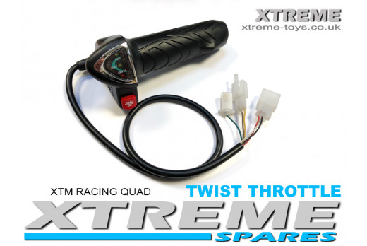 XTM RACING QUAD REPLACEMENT TWIST THROTTLE