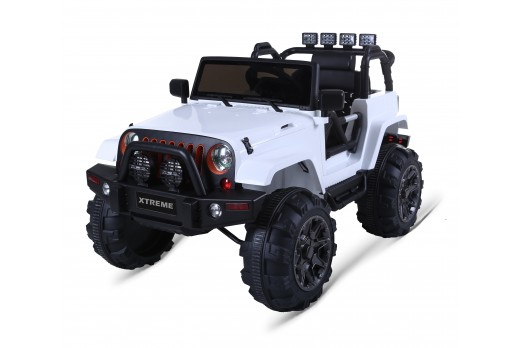 Xtreme 12v Ride on SUV Jeep with open doors