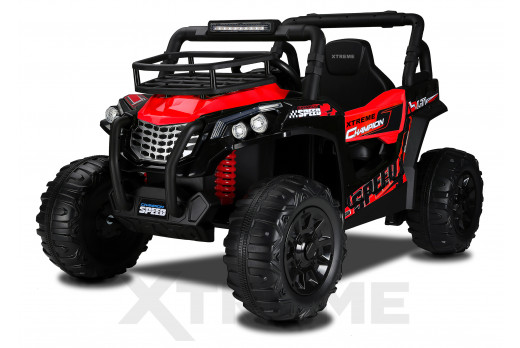 Xtreme BIG 12v Ride on Buggy Off Road UTV Jeep Red