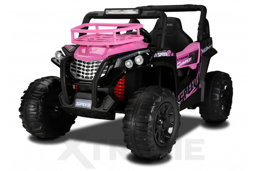 Xtreme BIG 12v Ride on Buggy Off Road UTV Jeep Pink