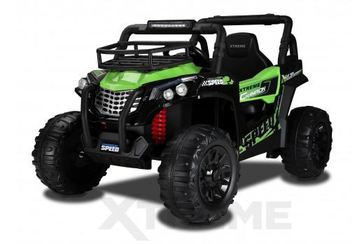 Xtreme BIG 12v Ride on Buggy Off Road UTV Jeep Green