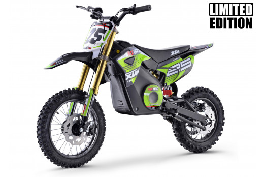 XTM MX-PRO 48V 1300W BIG WHEEL LITHIUM DIRT BIKE GREEN