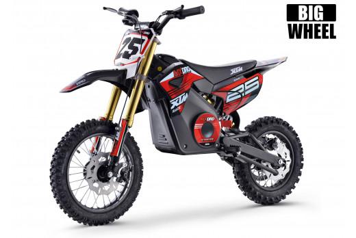 XTM MX-PRO 48V 1300W BIG WHEEL LITHIUM DIRT BIKE RED