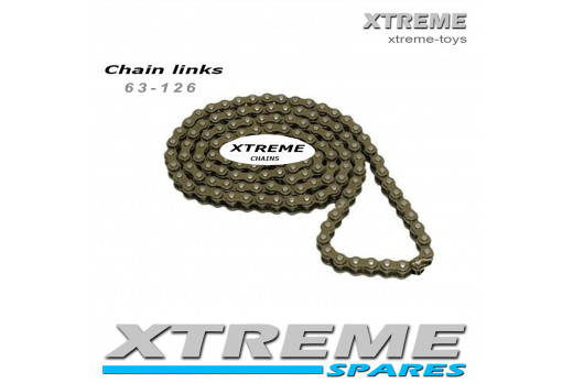ELECTRIC 24V 250W FUN BIKE REPLACEMENT CHAIN 63 - 136 LINKS