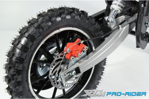 MINI DIRT BIKE / XTM / PRO-RIDER / CRX MOTOR BIKE / MOTOCROSS COMPLETE REAR WHEEL