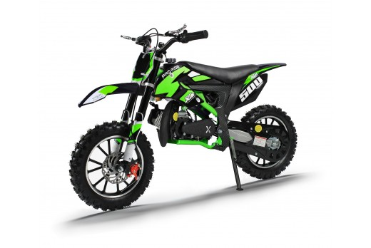 XTM PRO-RIDER 50cc DIRT BIKE BLACK GREEN