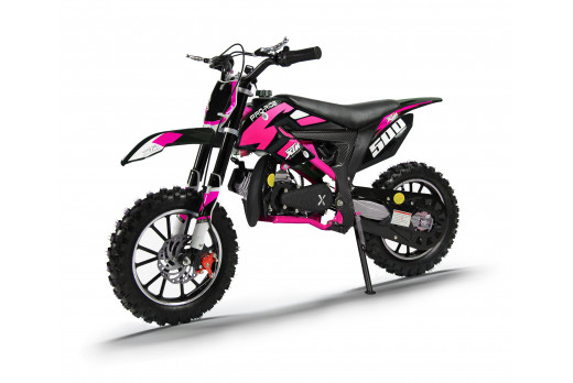 XTM PRO-RIDER 50cc DIRT BIKE BLACK PINK