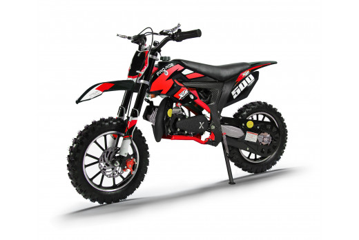 XTM PRO-RIDER 50cc DIRT BIKE BLACK RED