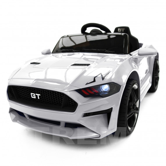 Xtreme 12v Ford Mustang GT Style Ride on Muscle Car White