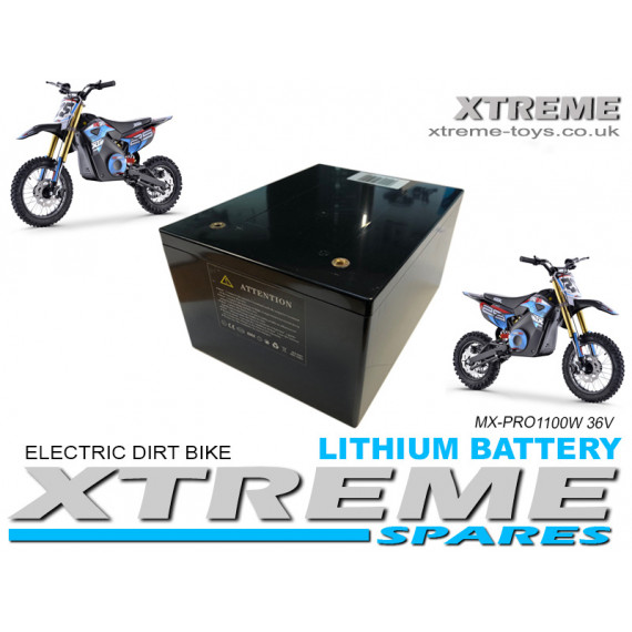 XTREME ELECTRIC XTM MX-PRO 36V 1100W LITHIUM REPLACEMENT BATTERY