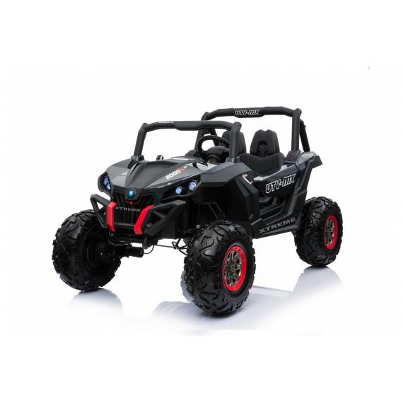 Xtreme 2018 BIG 24v Ride on 4x4 Jeep Carbon Fiber Black