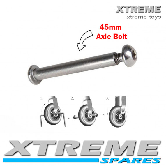 PUSH SCOOTER 45MM WHEEL AXLE BOLT