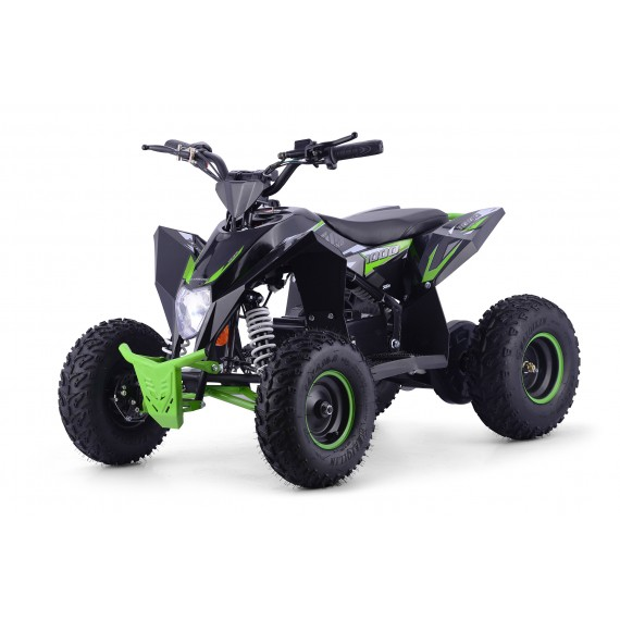 XTM RACING 1000w QUAD BIKE BLACK GREEN